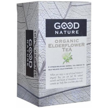 Good Nature Organic Elderflower Tea, 1.07 Ounce