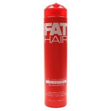 Samy Fat Hair 0 Calories Thickening Shampoo, 10 Ounce (Pack of 6)