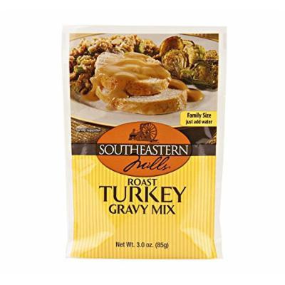 Southeastern Mills Roast Turkey Gravy Mix, 3 Oz. Package (Pack of 12)