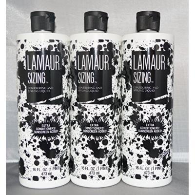 Lamaur Sizing Contouring and Styling Liquid 16 oz (3 pack)