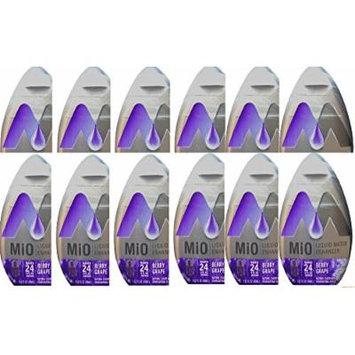 Mio Liquid Water Enhancer New Flavor Berry Grape (PACK OF 12)