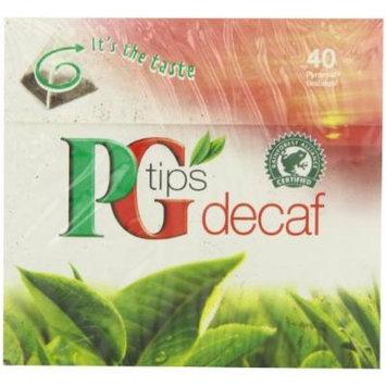 PG Tips Decaf 40 Ct Tea Bags - 2 Pack