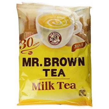 Mr. Brown 3 in 1 Milk Tea, 18 Ounce (Pack of 6)