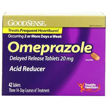 Good Sense Omeprazole Delayed Release, Acid Reducer Tablets 20 mg