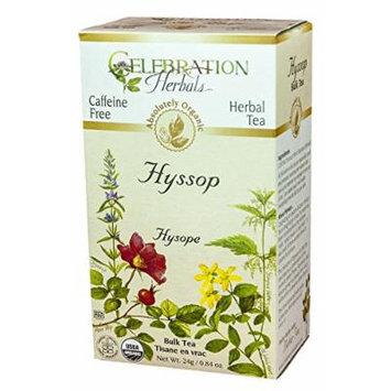 Celebration Herbals Organic Herbal Hyssop Loose Tea -- 0.84 oz