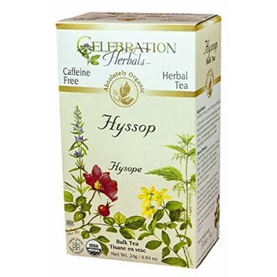 Celebration Herbals Organic Herbal Hyssop Loose Tea -- 0.84 oz
