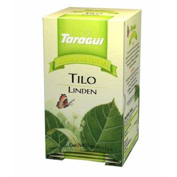 Taragui - Herbal Line Herbal Tea, Linden, 25-Count (Pack of 24 Boxes, 600 Tea Bags)