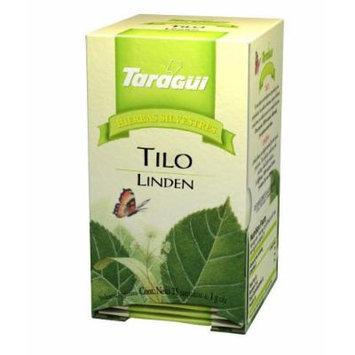 Taragui - Herbal Line Herbal Tea, Linden, 25-Count (Pack of 24 Boxes, 600 Tea Bags)