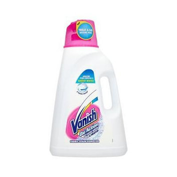 Vanish Oxi Action Crystal White Stain Remover Liquid 3L/101oz [Authentic European]