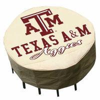 Texas A&M Round Patio Set Cover