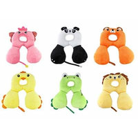 Generic Baby Child Head Neck Support Headrest Travel Car Seat Pillow Cushion Cartoon Lion