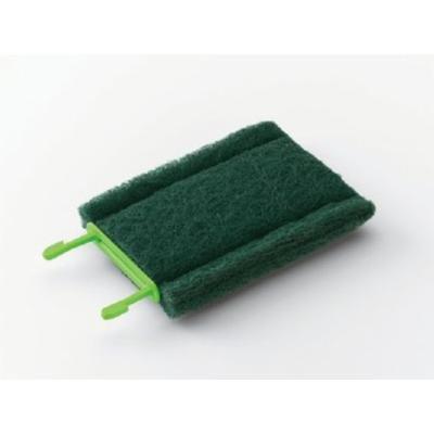 Scotch-Brite 902 Medium Duty Cleaning Pad, Green (Case of 6)