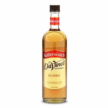 Da Vinci Butterscotch Syrup, 750 ml Bottle