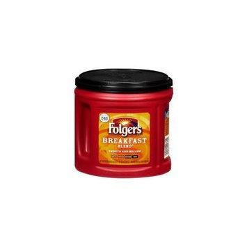 Folgers Mild Breakfast Blend Ground Coffee, 29.2 oz(Pack of 4)