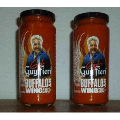 Guy Fieri BUFFALO NY CHICKEN WING Sauce 12 oz (2 Pack)