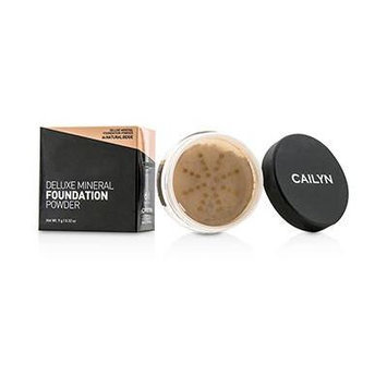 Cailyn Cosmetics Deluxe Mineral Foundation Powder, Natural Beige, 0.3 Ounce