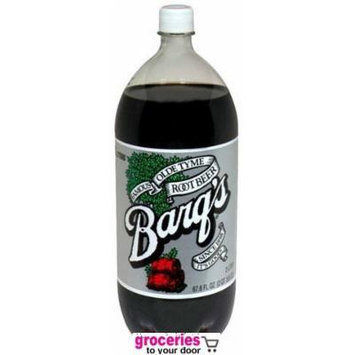 Barq's Root Beer, 2-Liter Bottle (Pack of 6)