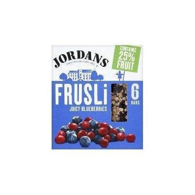 Jordans Frusli Blueberry Burst 6 Bars - Pack of 6