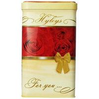 Hyleys Tea Loose Black Tea, 4.4-Ounce Gift Tin (Pack of 4)