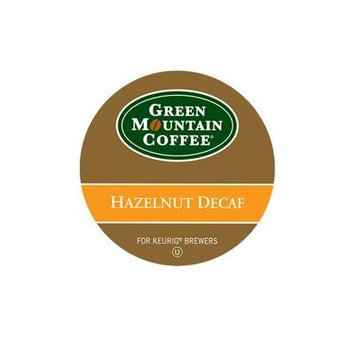 Green Mountain Hazelnut Decaffeinated K-Cup For Keurig Brewers