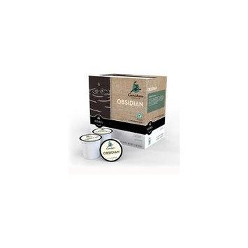 Caribou Coffee Obsidian Dark Roast K-Cups Coffee, 18 count(Case of 2)