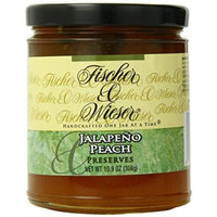 Fischer & Wieser Specialty Foods Jalapeno Peach Preserves, 10.9 Ounce