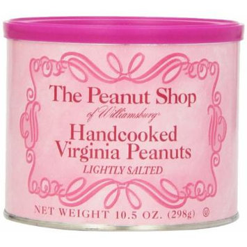 The Peanut Shop of Williamsburg National Breast Cancer Label Handcooked Virginia Peanuts, 10.5 Ounce (Pack of 12)