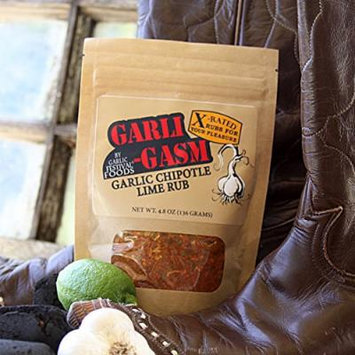 Garli-Gasm Garlic Chipotle Lime Rub
