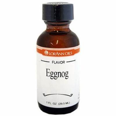 LorAnn Oils Flavorings and Essential Oils, Eggnog, 1 Ounce (Pack of 6)