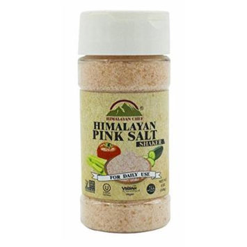 Himalayan Chef Pink Fine Salt Shaker, 5 Ounce (Pack of 6)