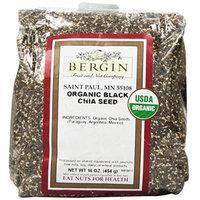 Bergin Nut Company Organic Black Chia Seed, 16 Ounce