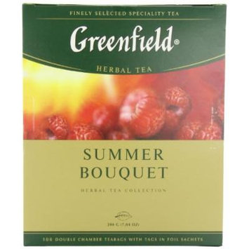 Greenfield Tea, Summer Bouquet, 100 Count