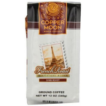 Copper Moon French Roast Coffee, Ground, 12-Ounce Bags (Pack of 3)