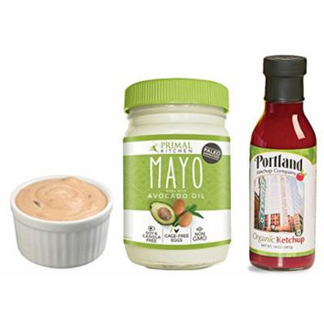 Paleo Thousand Island Dressing Kit: Avocado Oil Paleo Mayo and Organic Ketchup