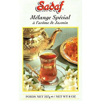 Sadaf Tea with Jasmine, 8 Oz (Pack of 2)
