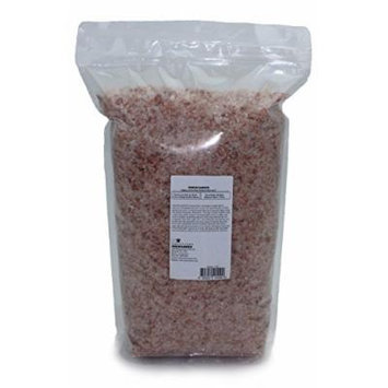 Indusclassic® Kosher Pure Natural Halall Unprocessed Himalayan Edible Pink Cooking Salt --- 10 lbs Medium Coarse Grain 1~3mm