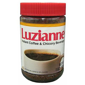 Luzianne Instant Coffee & Chicory Beverage, 8 oz