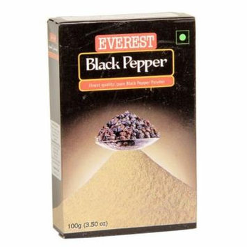 Everest Black Pepper Ground Spice Used As a Flavoring Spice in Veg and Non-veg Preparations (Box, 100 Gms)