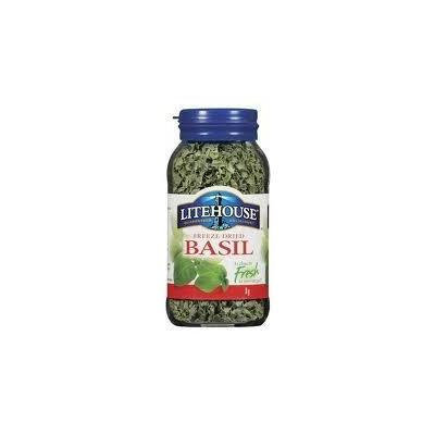 Litehouse Freeze Dried Basil (8 grams) 1 Bottle (Pack of 3)
