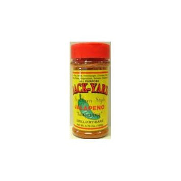 Back-Yard Southern Style All Purpose Seasoning 5.75-6oz Bottle (Pack of 3) Select Flavor Below (Jalapeno)