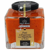 Villa Reale Italian Red Pepper and Almonds Pate, 6.35 Ounce