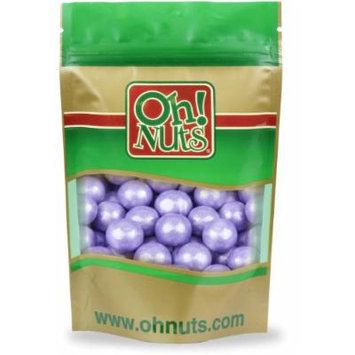 Shimmer Lavender Pearlescent 1 Inch Gumballs 2 Pound Bag - Oh! Nuts