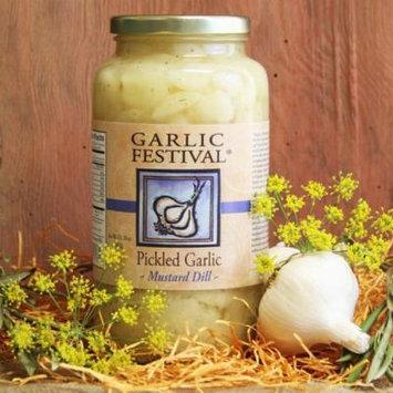 Mustard Dill Pickled Garlic (Quart)