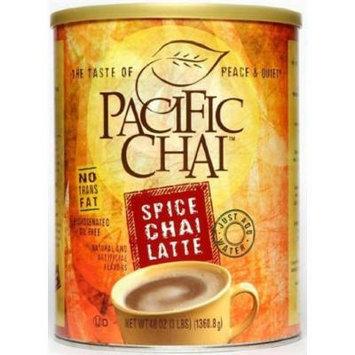 Pacific Chai Spice Chai 3 Lb Can Case of 6
