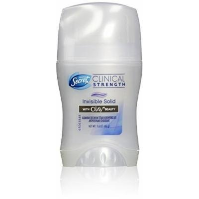Secret Clinical Strength Invisible Solid Women's Antiperspirant Deodorant with Olay Skin Conditioners, 1.6 Ounce