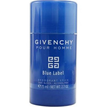 Givenchy Blue Label by Givenchy For Men. Alcohol Free Deodorant Stick 2.7-Ounces