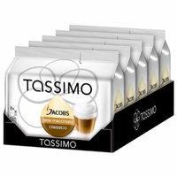 Tassimo Jacobs Latte Macchiato, Rainforest Alliance Certified, Pack of 5, 5 x 16 T-Discs (8 Servings)