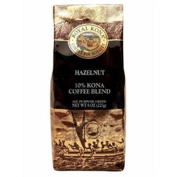 Hawaiian Value Pack Royal Kona Coffee Ground Hazelnut 4 Bags