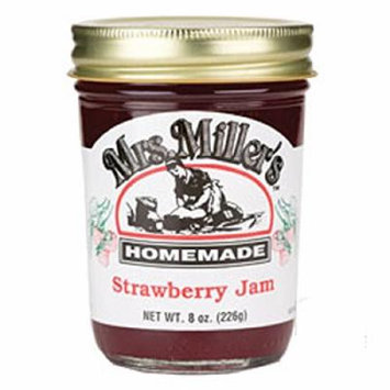 Mrs. Miller's Amish Homemade Jam, Strawberry, 24 Ounce