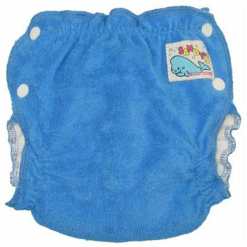 Mother-ease Sandy's Cloth Diaper (Large, Blue)